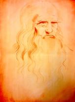 da Vinci - pastel pencil